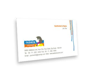 Online Business Card printing Women Fashion