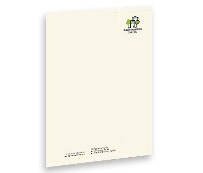 Online Letterhead printing Home Construction