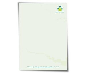 Letterhead printing Social Network