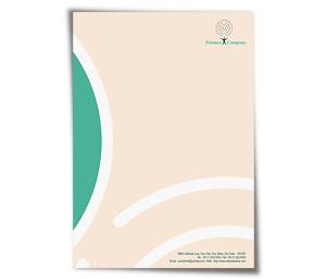 Letterhead printing Loan Finance