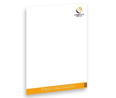 Online Letterhead printing Communication Centre