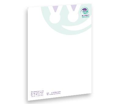 Online Letterhead printing Web System