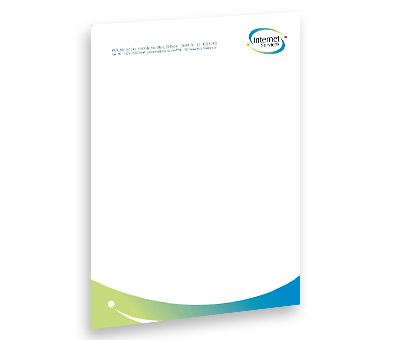 Online Letterhead printing Satellite Internet Service