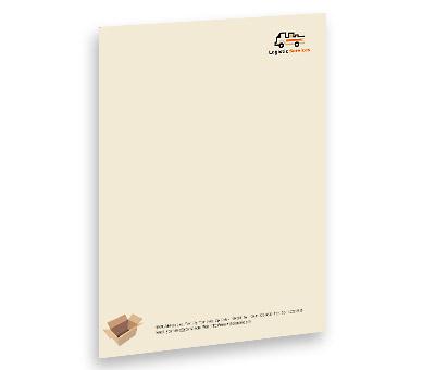 Online Letterhead printing Transport Logistics