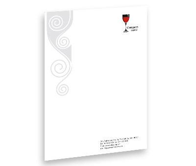 Online Letterhead printing Pub Bar