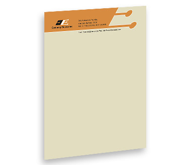 Online Letterhead printing Electronics Corporation