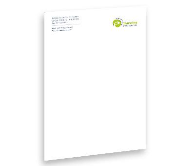 Online Letterhead printing E-Travel