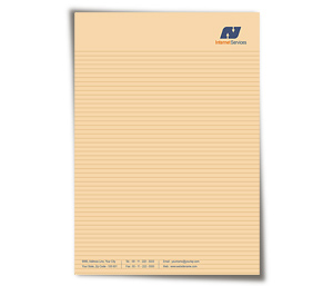 Letterhead printing Internet Solutions Provider
