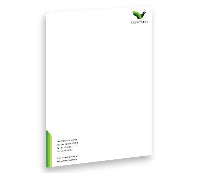 Online Letterhead printing Bird House
