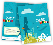Online Brochure printing Fashion Styles Store