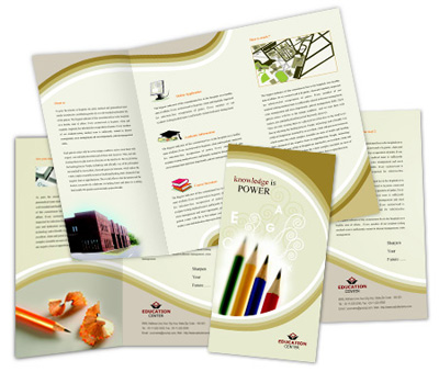 Online Brochures Two Fold printing Art School