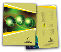 Online Brochure printing Online Communication Services