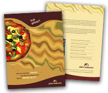 Online Brochure printing Fast Food Restaurant