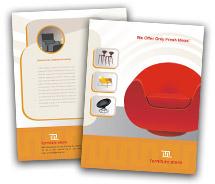 Online Brochure printing furniture stores