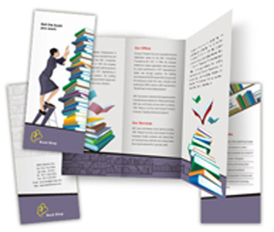 Online Brochures Two Fold printing Book House