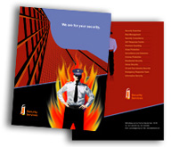 Online Brochure printing Security System House
