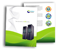 Online Brochure printing Domain Hosting Services