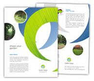 Online Brochure printing Landscape Design