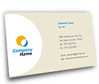 Online Business Card printing Wireless Data Communication