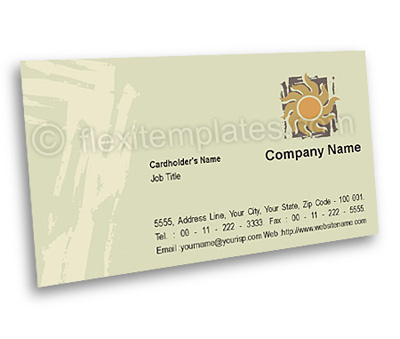 Online Business Card printing Art Supplier