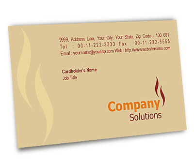 Online Business Card printing Oil Agency