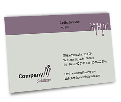 Online Business Card printing Company Hosting