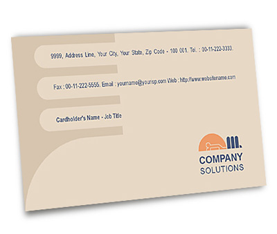 Online Business Card printing Guest House