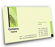 Online Business Card printing Garden Consultant