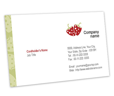 Online Business Card printing Fruit Supplier