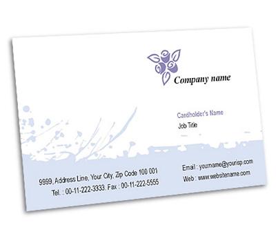 Online Business Card printing Interior Designs