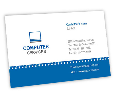 Online Business Card Printing Computer Sale