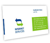 Online Business Card printing Internet Security Solutions
