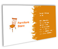 Online Business Card printing Furniture Store