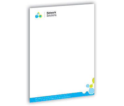 Online Letterhead printing Internet Network Services