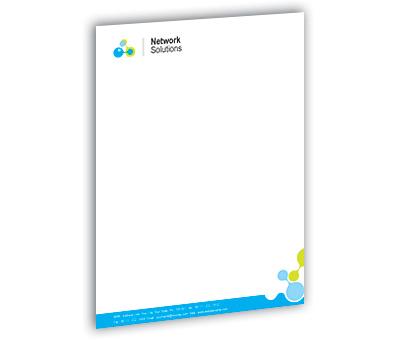 Online Letterhead printing Internet Network Services