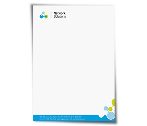 Letterhead printing Internet Network Services