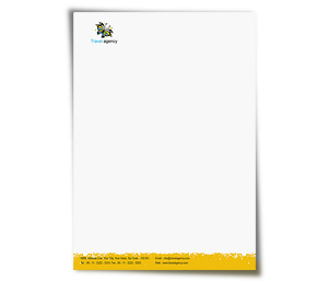 Letterhead printing Travel Agency