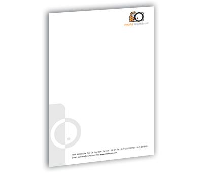 Online Letterhead printing Photo Workshop