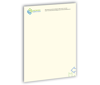 Online Letterhead printing Network Solution