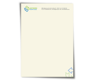 Letterhead printing Network Solution