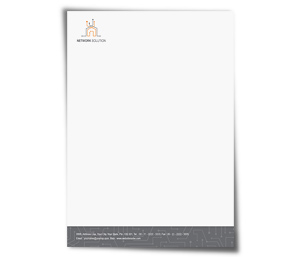 Letterhead printing Network Computers