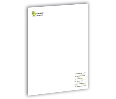 Online Letterhead printing Computer Components
