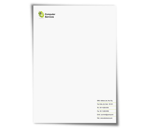 Letterhead printing Computer Components