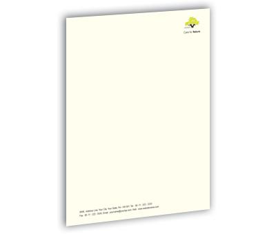 Online Letterhead printing Tree Nursery