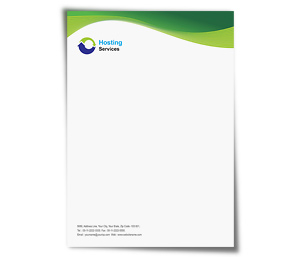 Letterhead printing Domain Hosting Services