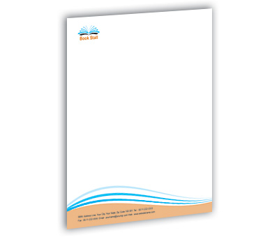 Online Letterhead printing Book Store