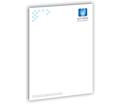 Online Letterhead printing Software Development Company