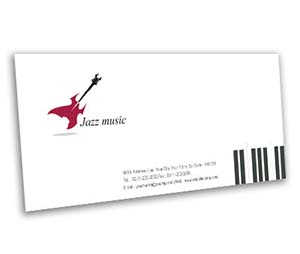Envelope printing Jazz Band