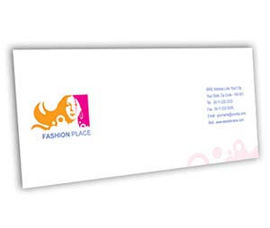 Envelope printing Fashion Place