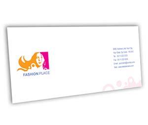 Envelope printing Fashion Place